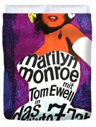 The Seven Year Itch German Duvet Cover by Nomad Art And  Design