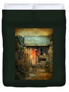 The Shed Duvet Cover by Jessica Jenney