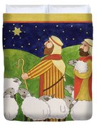 The Shepherds Duvet Cover by Linda Benton