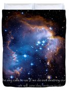 The Sky  Duvet Cover by Bill  Wakeley