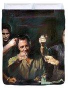 The Sopranos Duvet Cover by Viola El