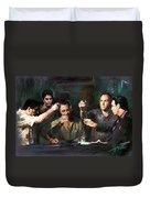 The Sopranos Duvet Cover by Viola El