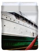 The S.s. Keewatin Duvet Cover by Michelle Calkins