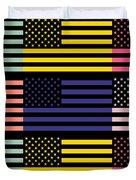 The Star Flag Duvet Cover by Toppart Sweden