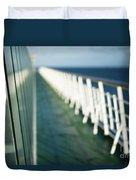 The Sun Deck Duvet Cover by Anne Gilbert