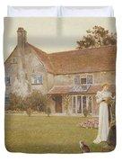 The Sundial Duvet Cover by Thomas James Lloyd