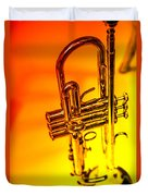The Trumpet Duvet Cover by Karol Livote