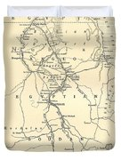 The Upper Nile Duvet Cover by English School