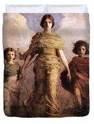 The Virgin Duvet Cover by Abbott Handerson Thayer