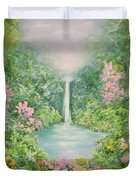 The Waterfall Duvet Cover by Hannibal Mane