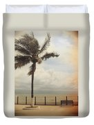 The Wind In My Hair Duvet Cover by Laurie Search