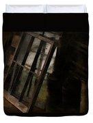 The Window Shop Duvet Cover by Ron Jones