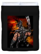 The Wolverine Duvet Cover by Pete Tapang