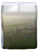 The World From Above. Holland Duvet Cover by Ausra Paulauskaite