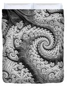 There's A Chill In The Air  Duvet Cover by Heidi Smith