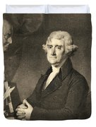Thomas Jefferson Duvet Cover by American School