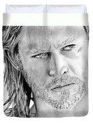 Thor Odinson Duvet Cover by Kayleigh Semeniuk