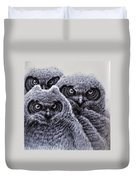 Three Amigos Duvet Cover by Rick Hansen
