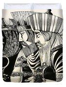 Three Kings Duvet Cover by Richard Hook