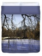 Through The Branches 1 - Central Park - Nyc Duvet Cover by Madeline Ellis