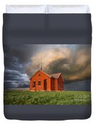 Thunderous Plains Duvet Cover by Jill Van Doren Rolo
