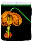 Tiger Lily Duvet Cover by Robert Bales
