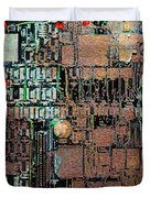 Time For A Motherboard Upgrade 20130716 square Duvet Cover by Wingsdomain Art and Photography