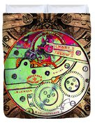Time Machine 20130606 square Duvet Cover by Wingsdomain Art and Photography