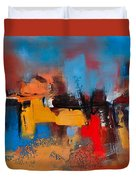 Time To Time Duvet Cover by Elise Palmigiani