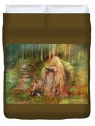 To Spin A Tale Duvet Cover by Aimee Stewart