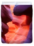 To The Center Of The Earth Duvet Cover by Inge Johnsson