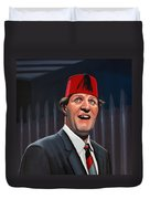 Tommy Cooper Duvet Cover by Paul Meijering