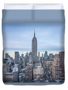 Touch The Sky Duvet Cover by Evelina Kremsdorf