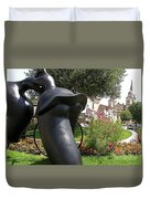 Tour de France Duvet Cover by FRANCE  ART