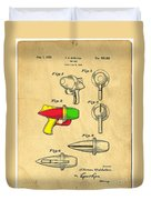 Toy Ray Gun Patent II Duvet Cover by Edward Fielding