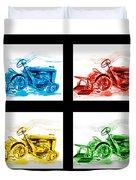 Tractor Mania Iv Duvet Cover by Kip DeVore