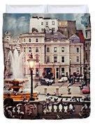 Trafalgar Square London Duvet Cover by Diana Angstadt