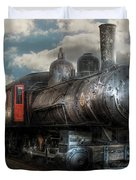 Train - Engine - 6 NW Class G Steam Locomotive 4-6-0  Duvet Cover by Mike Savad