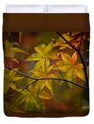 Tranquil Collage Duvet Cover by Mike Reid