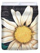 Tranquil Daisy 2 Duvet Cover by Debbie DeWitt