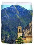 Tranquil Landscape Duvet Cover by Mariola Bitner