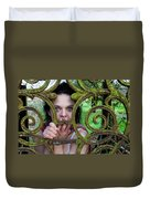 Trapped Duvet Cover by Semmick Photo
