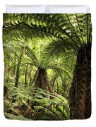 Tree Ferns Duvet Cover by Les Cunliffe