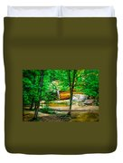 Tree Roots Duvet Cover by Optical Playground By MP Ray