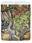 Tree Roots Duvet Cover by Vincent Van Gogh