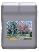 Trees Of Windermere Duvet Cover by Susan E Jones
