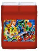 Trey Kandinsky  Duvet Cover by Joshua Morton