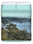 Trinidad Beach Landscape Duvet Cover by Adam Jewell