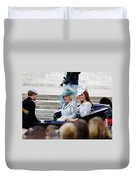 Trooping The Colour 2012 Duvet Cover by Dutourdumonde Photography