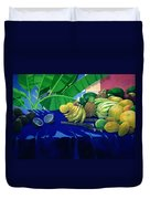 Tropical Fruit Duvet Cover by Lincoln Seligman
